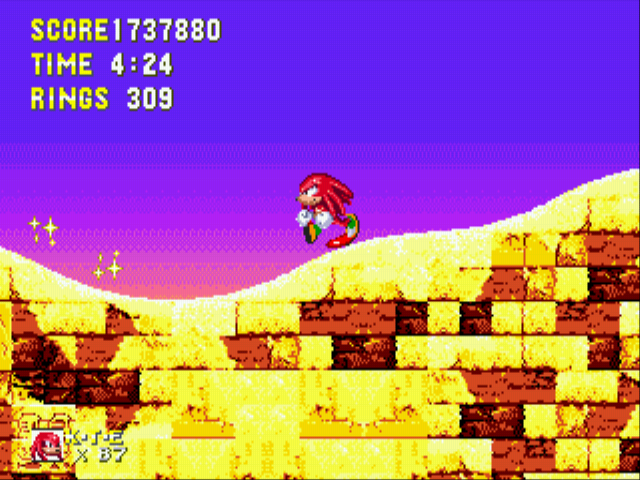 Sonic and Knuckles & Sonic 3 - Moon-runnin